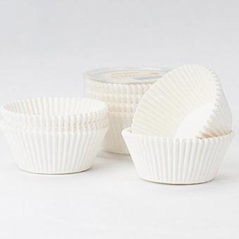 Harga Bluelans Solid Color Paper Cake Cupcake Liner Case Party Baking Muffin Cup Cas 100Pcs White