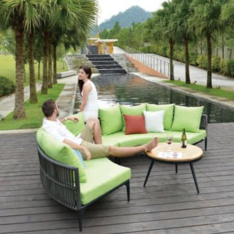 Harga SJY- Kitaibela Teak Top Coffee Table