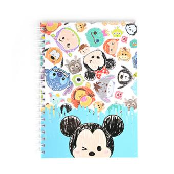 Harga Disney Tsum Tsum Wire-O Notebook Sketch(Multicolor)