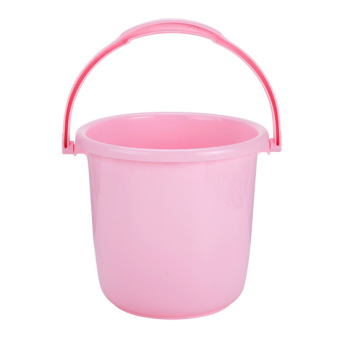 Harga Home home plastic Small bucket home portable mop bucket thick laundry drum washing mention water barrel storage tank barrels