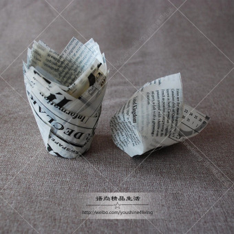 Harga Export newspaper letters no. 50 at the end of a loaf of bread baking paper muffin cake cups muffin recommend popular