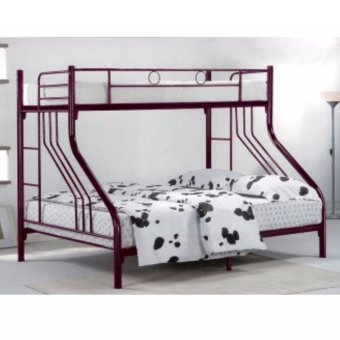 Double Decker Family Bunk Bed (3 Persons)