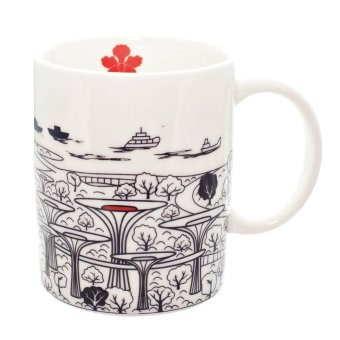 Luzerne Garden by the Bay Singapore Mug [SG]