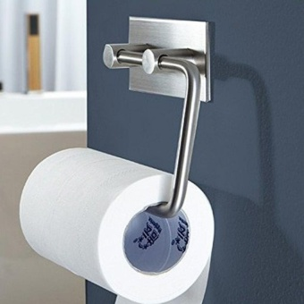Harga 304 Stainless Steel Sticky Paper Jam, Seamless Tissue Roll Hanging in the Bathroom and Kitchen Wall. - intl