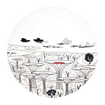 Harga Luzerne Garden by the Bay Singapore Plate [SG]