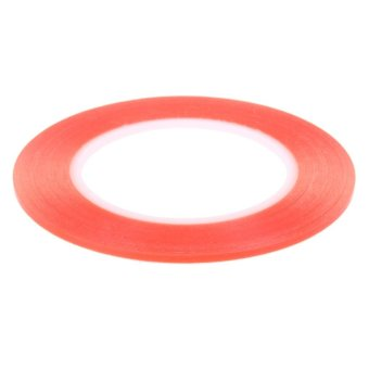 1.3M Transparent Double Side Adhensive Tape High Temperature 3mm (Red) - intl