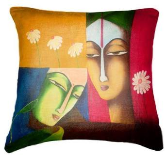 IMG Cushion Cover BUY 1 GET 1 FREE painting face