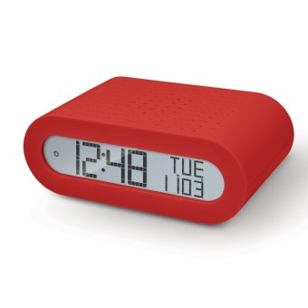 Harga Oregon Scientific Classic Alarm Clock with FM Radio RRM116 (Red with UK Plug)