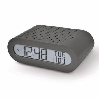 Harga Oregon Scientific Classic Alarm Clock with FM Radio RRM116 (Black with EU Plug) - intl