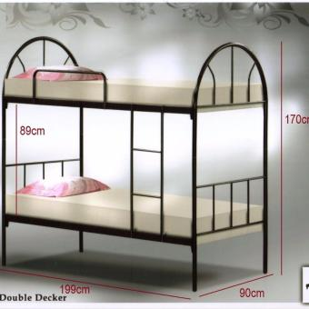 Harga Contemporary Mintz Double Decker Bed(2 Persons)