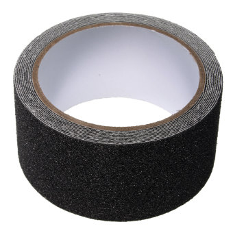 Harga 5cm x 3m Floor Safety Non Skid Tape Roll Anti Slip Adhesive Stickers High Grip black
