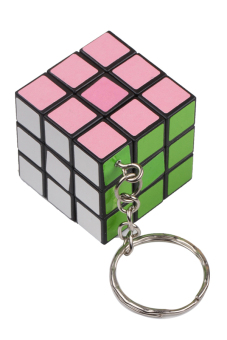 Harga Fancyqube Mini Toy Cube Game Puzzle Key Chain Multicolor