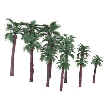 Harga RIS Serious Play Model Palm Trees Railway Warhammer Scenery Plastic Tree(Export)