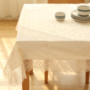 Harga European-style lace coffee table cloth WISHING TREE