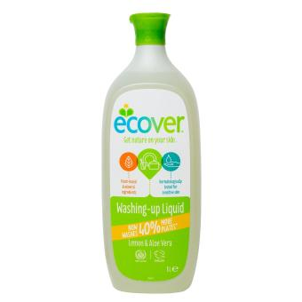 Harga Ecover Washing-up Liquid - Lemon & Aloe Vera 1L