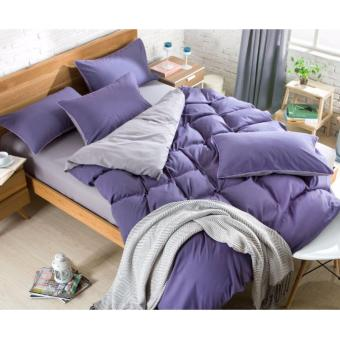 Harga Fitted BedSheet Sets / Bedsheet Set (Purple)