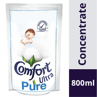 Harga Comfort Concentrates Ultra Pure Fabric Softener Refill Pack 800ml