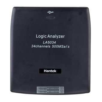 Harga Hantek LA5034 34CH 500MHz USB PC Virtual Logic Analyzer CAN I2C SPI RS232 - intl
