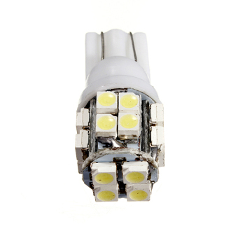 T10 168 194 W5W 20 SMD LED Car Side Wedge Day White Lamp Bright Lights Bulb