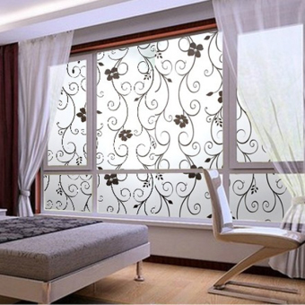 Search Singapore Bolehdeals Reusable Xcm Lily Flowers Frosted - Window stickers for home singapore