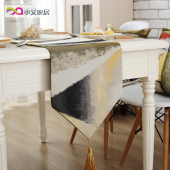 Em european home table cloth fabric lace table runner tablecloth coffee table cloth cover cloth tablecloths pastoral modern minimalist