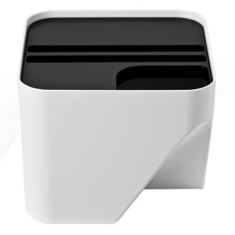 "Harga ""Block 20"" Dust Bin (White)"