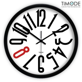 Timode excellent creative minimalist minimalist living room wall clock fashion wall clock mute quartz clock