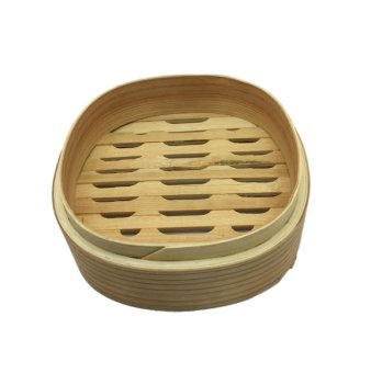 Harga Square Chinese Bamboo Steaming Case