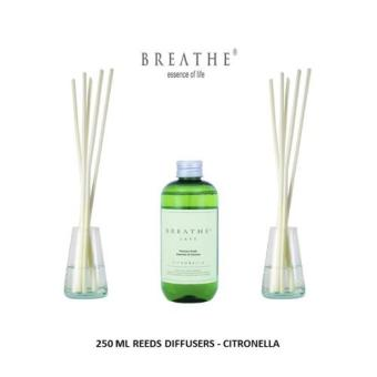 Harga 250 ml Aromatherapy Reeds Oil Diffuser - Citronella