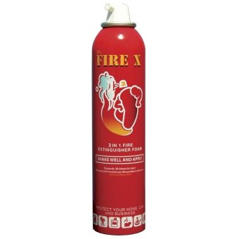 Harga Mr Fire X Foam Fire Extinguishing Aerosol Spray (Bundle of 3)