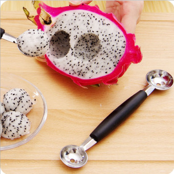 Harga Stainless steel watermelon ball is digging dig watermelon ball spoon watermelon spoon fruit ball spoon stainless steel fruit dig the ball control