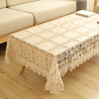 Harga Wishing tree European lace tablecloth TV cabinet cover towel side cabinet small coffee table cover towel refrigerator cover cloth Multi-Purpose