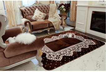 Teenage girls room pink student dormitory bedroom bed living room carpet sofa coffee table carpet bedroom carpet