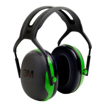 Harga 3M™ PELTOR™ X Series Ear Muffs, 22dB, Green, Headband, X1A