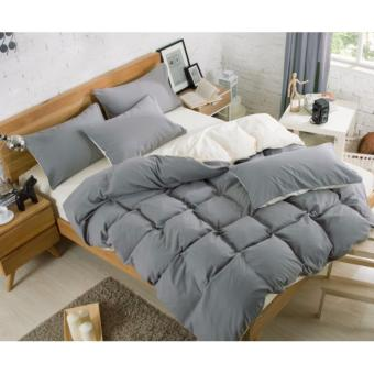 Harga Fitted BedSheet Sets / Bedsheet Set (Grey)
