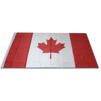 Harga Canada Flag Large 3' x 5' Polyester - intl