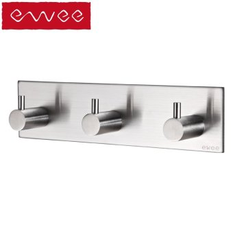 Harga Ewee germany stainless steel door after seamless adhesive hook suction cup coat hooks coat hooks kitchen bathroom towel hook