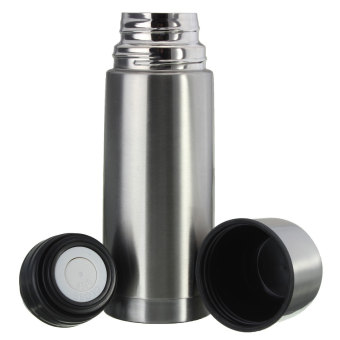 Harga Stainless Steel Vacuum Bullet Flask Cup Warm Hot Cold Keeping 350 ml - Intl