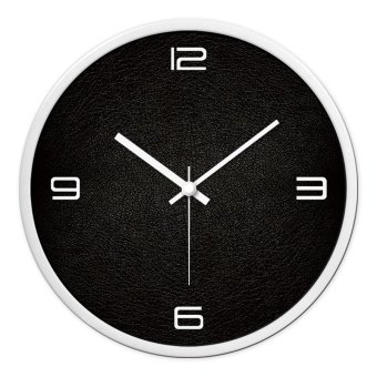 The mormon clocks mute wall clock fashion creative personality living room bedroom modern minimalist clock large pocket watch quartz clock