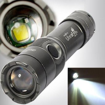 3000Lm UltraFire CREE XML T6 LED Zoomable 18650 AAA Flashlight Torch Light Lamp - intl