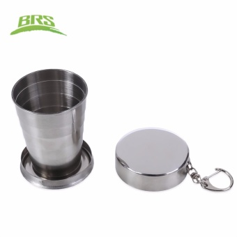 BRS 140ML Aluminum Alloy Collapsible Cup - intl