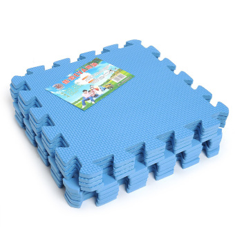 Harga 9 PCS Interlocking Anti-fatigue Waterproof Puzzle Floor Foam Mats U Pick Color