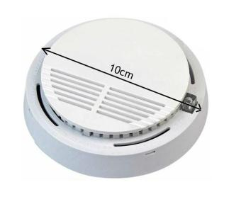 Battery Powered Wireless Smoke Detector for Home office Storerooms