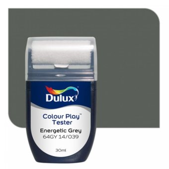 Dulux Colour Play Tester Energetic Grey 64GY 14/039