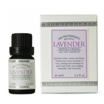 Harga Donna Chang Lavender 100% Pure Essential Oil 10ml