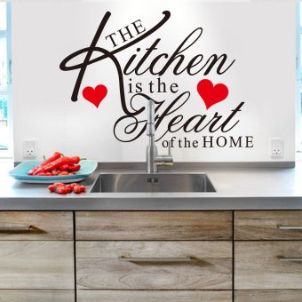 Harga Kitchen wall stickers in English custom can be removed 8191 the kitchen in the zooyoo