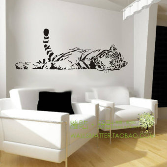 Harga Entrance bedroom Glass Decorative living room sofa wall stickers