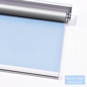 Harga Windowday Blackout Roller Blind (Electric Blue)