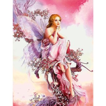 Harga 5D Fairy Butterfly DIY Diamond Embroidery Painting