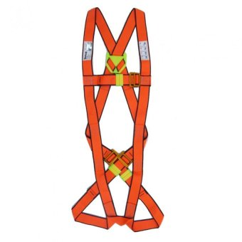 Harga Skyhawk Full Body Harness C/W Dorsal Steel D-Ring and Double Lanyard C/W Steel Snaphooks and Steel Auto Karabiner